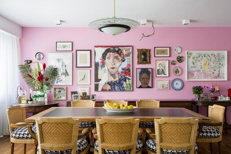 珠寶設計師的家,巴西式的隨性熱情暖意