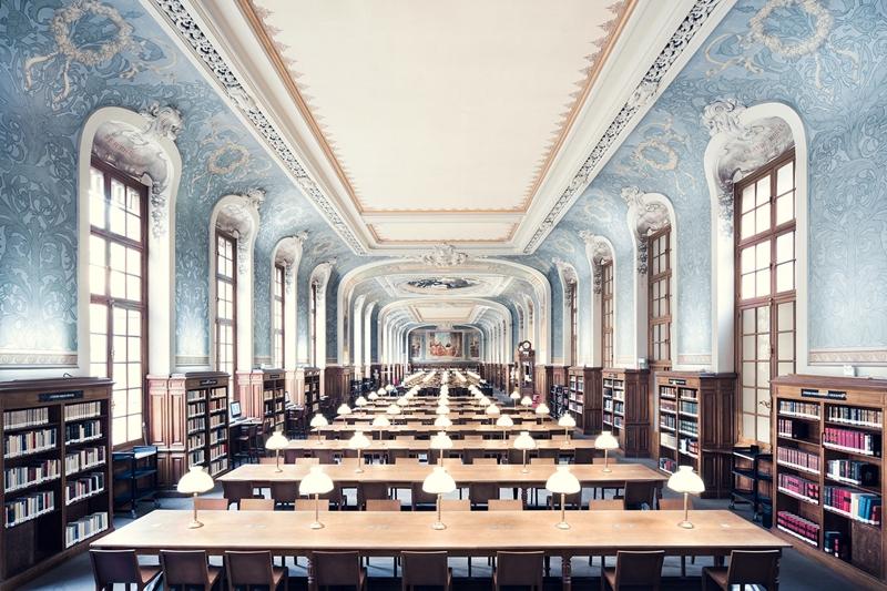 巴黎攝影師Thibaud Poirer走訪世界各地,蒐集「全球最美圖書館」