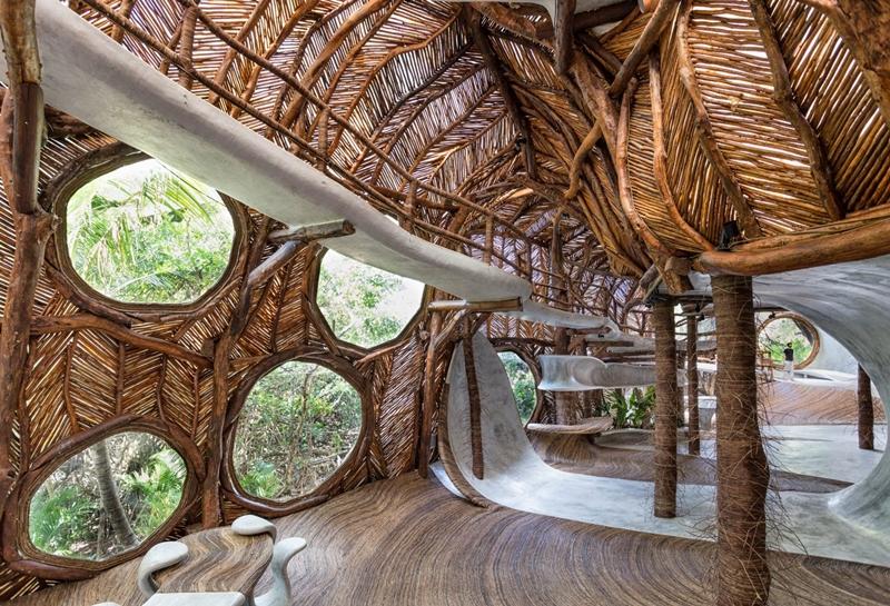枝條攀附而成的藝廊,帶領行家探索嶄新創意可能!