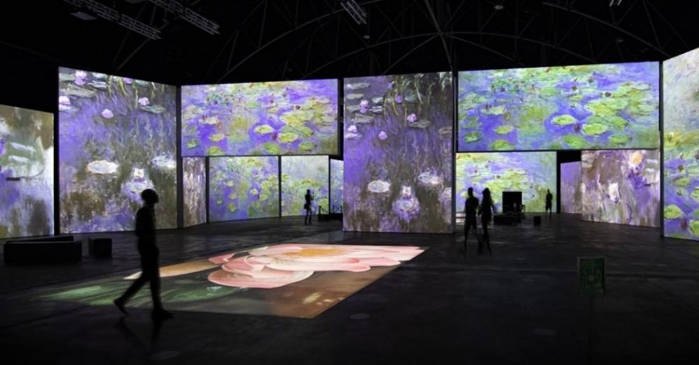6月登場印象‧莫內—光影體驗展!5公尺高巨幕沉浸式體驗印象派名作