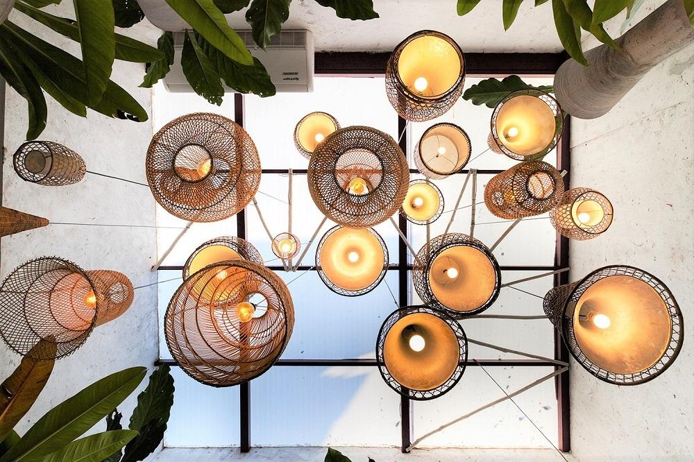 遍灑巴西陽光的天井設計