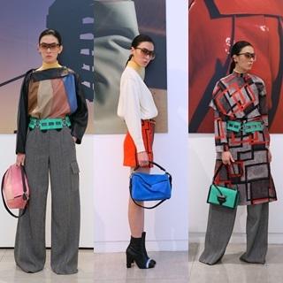 Loewe秋冬以三角袋扣致敬 主打實穿性艷彩未來主義
