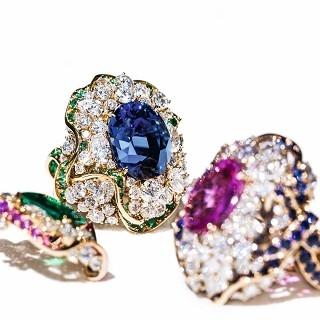 寶石中的絲綢 Soie Dior系列高級珠寶
