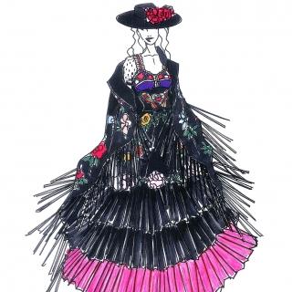 天后瑪丹娜世界巡迴開跑 Gucci設計總監親自設計舞...