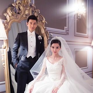 黃曉明Angelababy王子與公主世紀婚禮 婚紗珠...