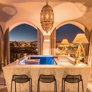 沙漠中的神秘五星級飯店 摩洛哥Hotel Sahra...