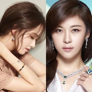 韓星愛珠寶 潤娥V.S.河智苑以品牌好友之姿站台
