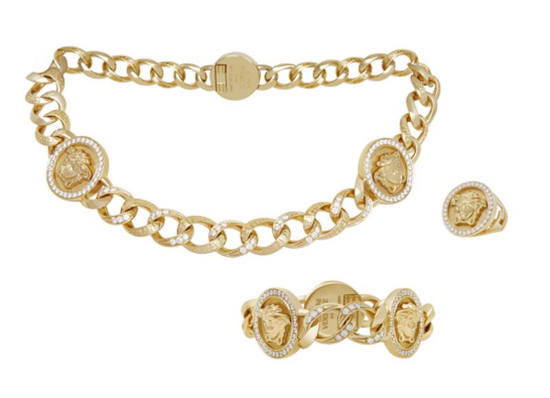 凡賽斯女王愛黃金 Versace推高級珠寶