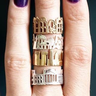 將你愛的城市戴於指間!意想不到的創意戒指