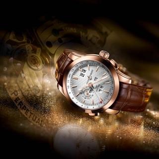 雅典錶萬年曆腕錶 時空永恆收藏