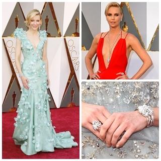 鑽石最耀眼! 女星紅毯怎麼搭?