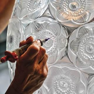 Lalique銀蓮花 百年身影再現