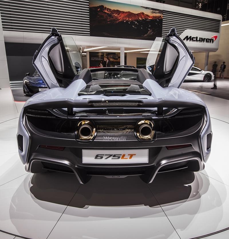 McLaren 個性設計風格 打造獨一無二