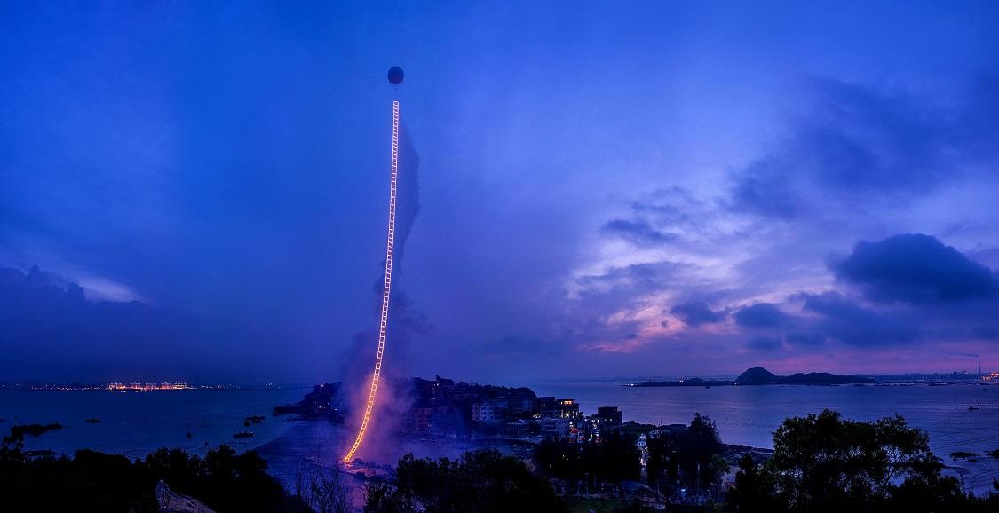 在雲端上放火的頑童 蔡國強 Sky Ladder: The Art of Cai Guo-Qian