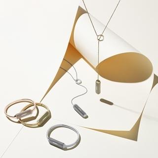 智能手環哪有這麼美?22k鍍金為你升級健康時髦新形象