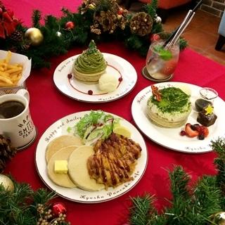 一次滿足甜鹹兩個胃,聖誕約會就該來鬆餅名店吃烤雞