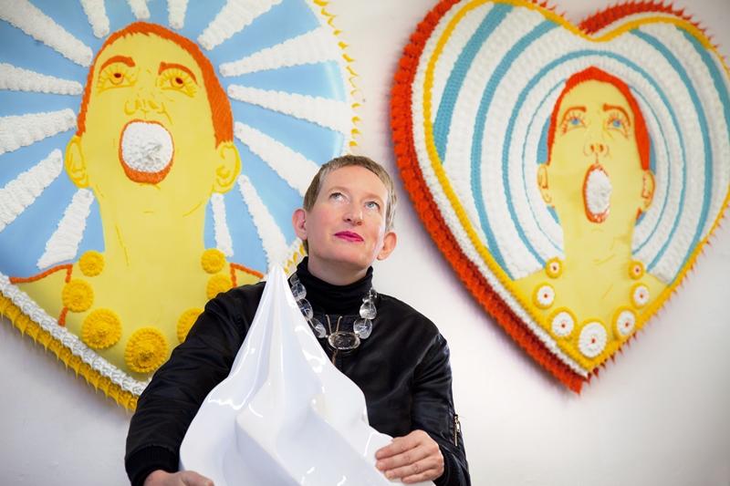德國藝術家Anke Eilergerhard。