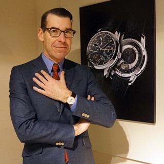 遇見鐘錶中的紳士風範─江詩丹頓產品研發部藝術總監Ch...