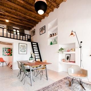 摩登時尚公寓竟是200年老屋改建而成,來看看設計師怎...