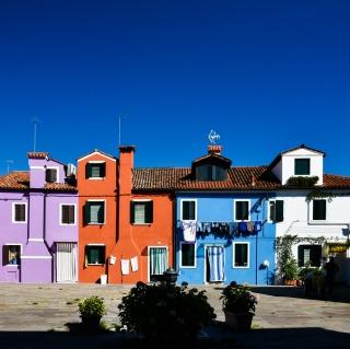 彩色  夢境島嶼