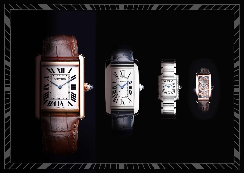 百年經典 TANK腕錶- 腕上 微建築