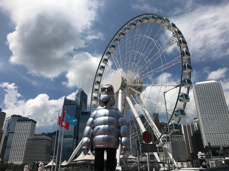 最夯網紅就是他!盟可睞先生Mr. Moncler大舉進攻香港