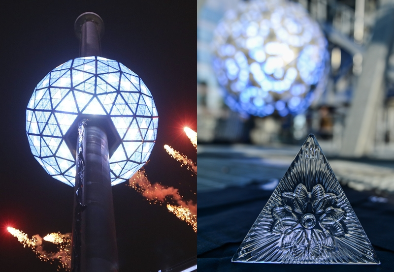 時代廣場倒數水晶球,送給世界的「善良之禮」
