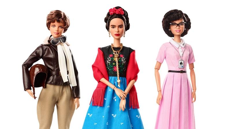 認真築夢的女人最美麗!女英雄系列芭比一字排開,共同歡慶國際婦女節!