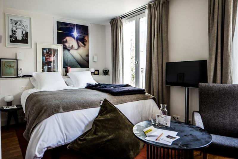 藏不住的性感!巴黎紅燈區旁浪漫頹靡的文青酒店