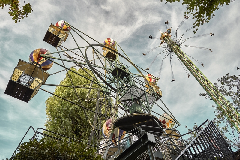 歡樂的起點,世界最古老遊樂園在丹麥!