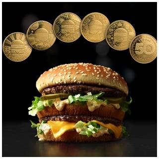 大麥克50周年,走訪各國蒐集麥克幣吧!