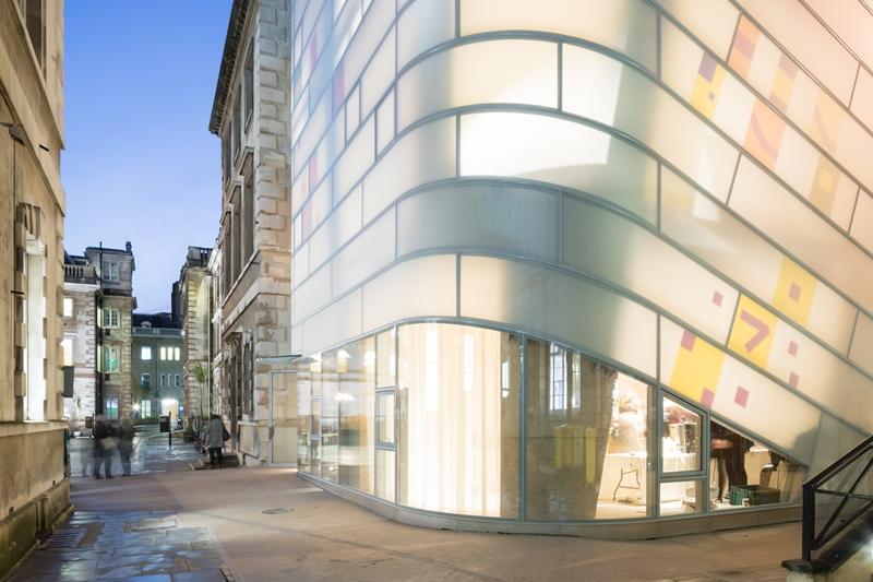 Maggie's Center Barts,倫敦市閃閃發光的療養院