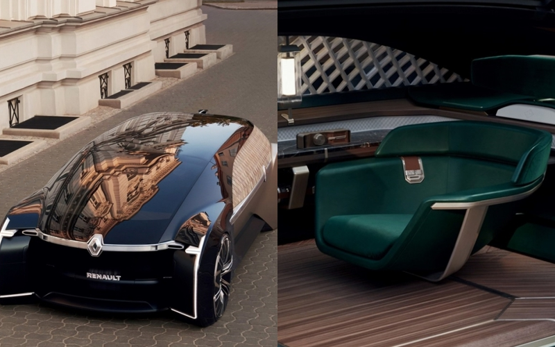 2018巴黎車展盛大展開,雷諾概念車EZ-ULTIMO首度亮相!