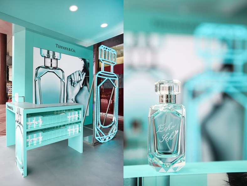 為經典淡香精披上精緻華服,Tiffany & Co. 同名晶鑽淡香精讓幸福感更濃...