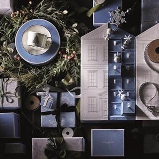 Wedgwood首推聖誕餐瓷 許你一個銀白格魯吉亞聖...