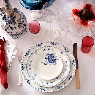 在軟硬材質間衝撞全新美感,皇家哥本哈根名人聖誕餐...