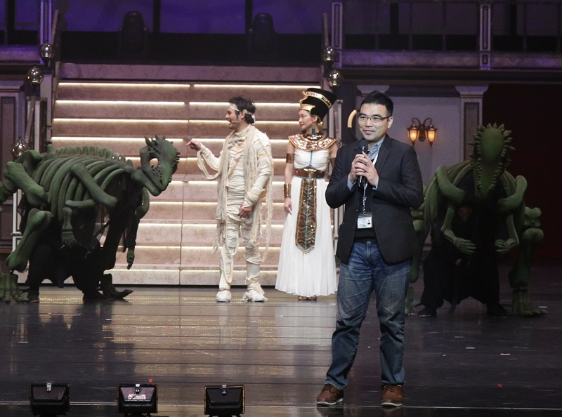 恐龍復活了!? 台韓共製音樂劇『重』磅登場