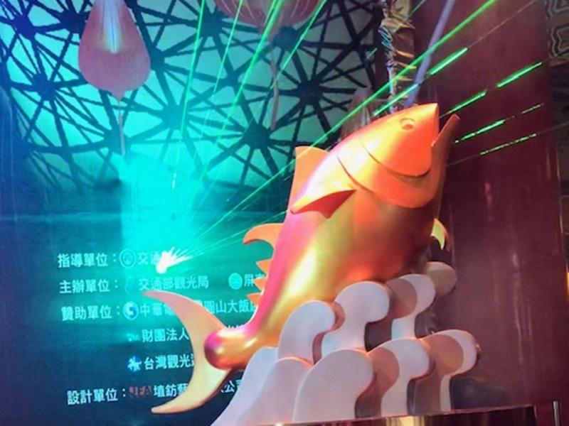 「巨鮪來富」「屏安豬」 2019台灣燈會閃耀國境之南