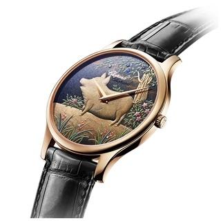 薈萃東西方工藝  蕭邦金豬L.U.C XP蒔繪腕錶造...