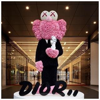 DIOR邀藝術家KAWS創作 在台北新光三越 A11...