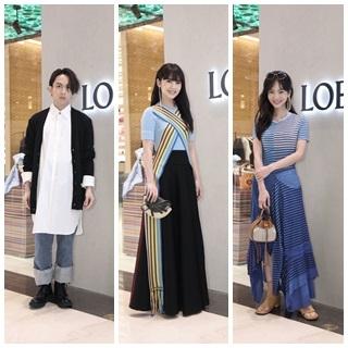 CASA LOEWE全新概念店 眾星朝聖 同場較...