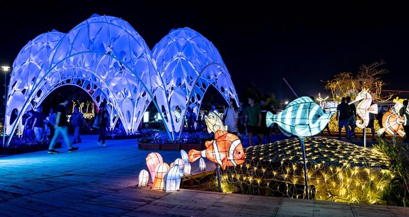 台灣燈會海底世界燈「珊瑚之心」作品 獲義大利國際設計大獎提名