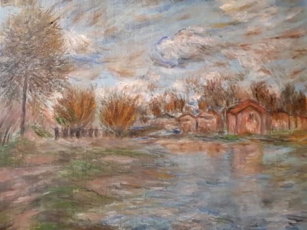 大自然的饗宴JULIA WU油畫展