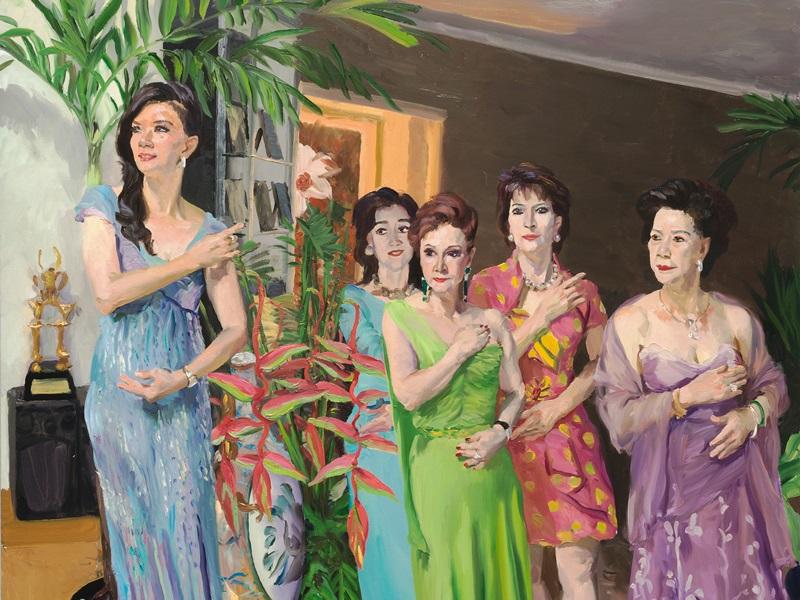 遠離塵世繁瑣 實踐派藝術家劉小東個展在香港