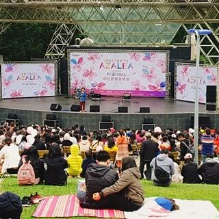 杜鵑花野餐音樂會 熊讚與日本城市吉祥物齊亮相