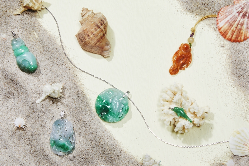 聽海踏浪 翡翠珠寶的夏日篇
