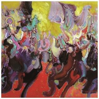 中西融合寫實抽象兼具 旅美畫家吳文瑤油畫展