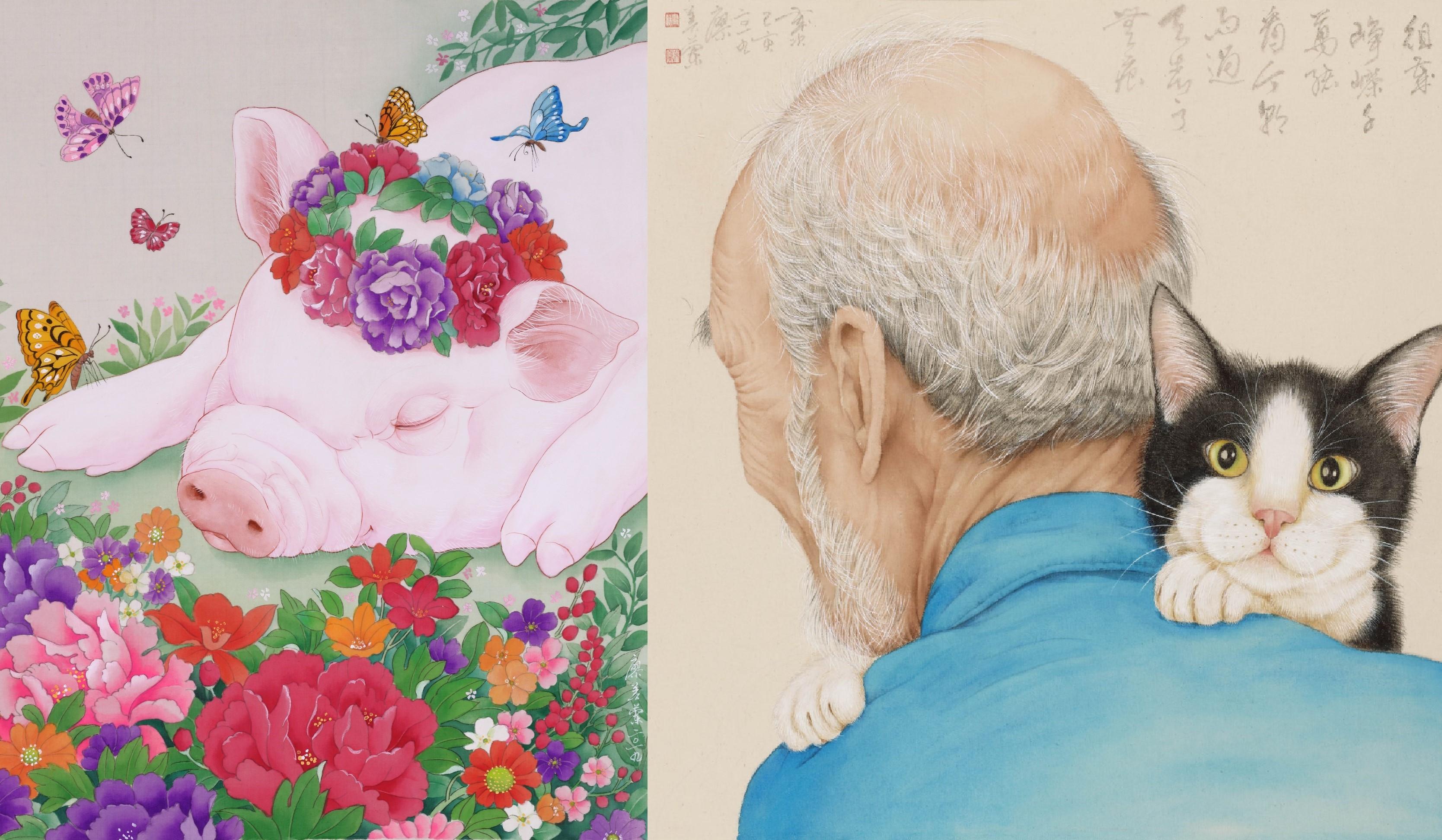 寫實與細膩,藝術家廖美蘭老師筆下繪出的生命之美與人間情味。