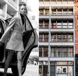 點亮蘇活區時尚風潮的VERSACE全新概念店