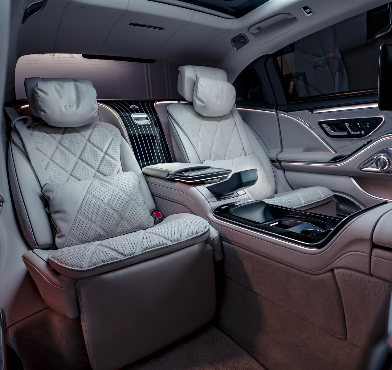 不只是錢堆出的豪車 Mercedes-Maybach S-Class給你五個欣賞...